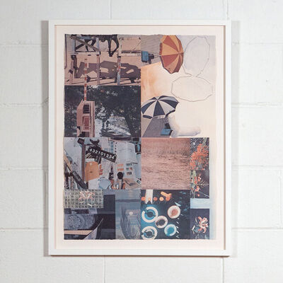 Robert Rauschenberg, 'Umbrellas', 1983