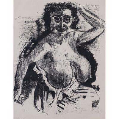 Otto Dix, 'Halbakt', 1923 -1924