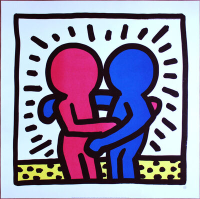 Keith Haring, 'Best Buddies', ca. 1993