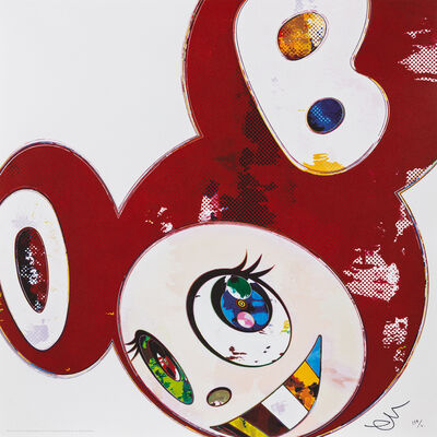 Takashi Murakami, 'And Then x 6  (Red: The Superflat Method)', 2013