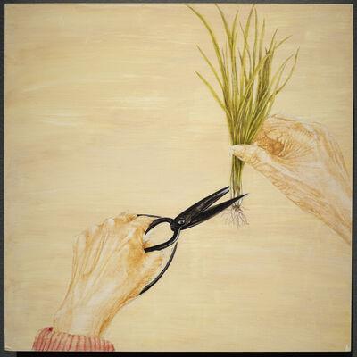 Millie Chen, 'Popo's Scissors: Cutting Chives', 2018