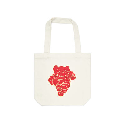 KAWS, 'KAWS x NGV Chum Tote Bag (Red)', 2019