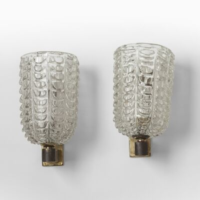 Dino Martens, 'A pair of wall lamps', circa 1948