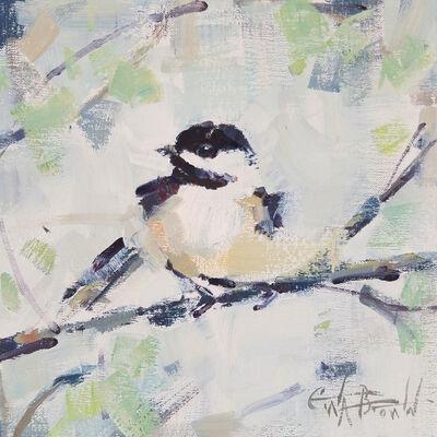 Gina Brown, 'Carolina Chickadee', 2019