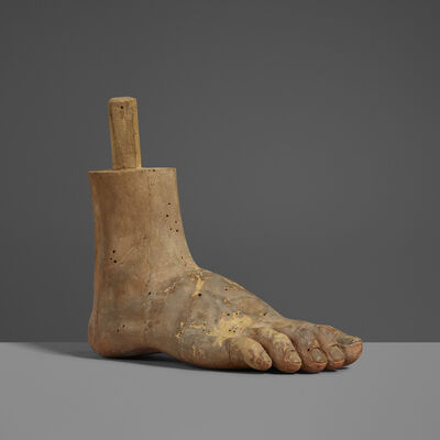 Unknown Spanish, 'Santo Foot', 19th Century
