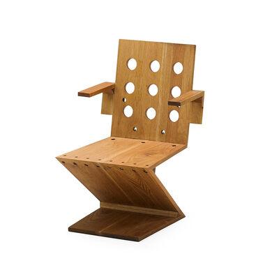 Attributed to Gerrit Rietveld, 'Zig-Zag chair', 1940s