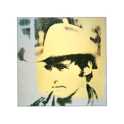 Andy Warhol, 'Dennis Hopper, Yellow Hat', 1979
