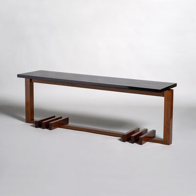 André Sornay, 'Coffee table in mahogany', ca. 1935