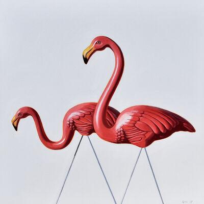 Danny Heller, 'Flamingo Study #4', 2017