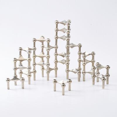 BMF, 'Set of twenty-three interlocking modular candlesticks', 1960s