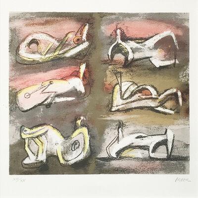Henry Moore, 'Six Figures', 1981