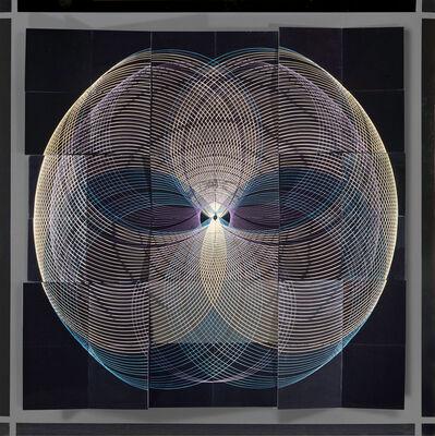 Eduardo Mac Entyre, 'Pintura generativa montaje ', 1970