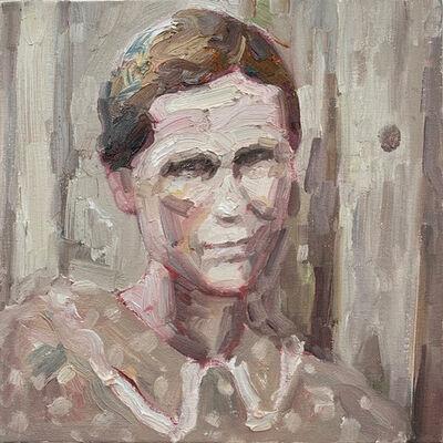 Hung Liu 刘虹, 'Dustbowl Portrait VII', 2019