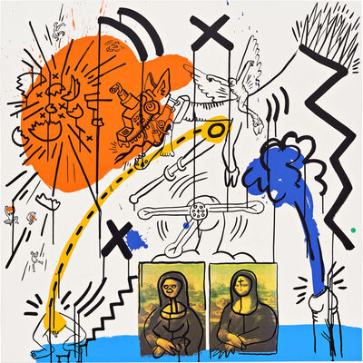 Keith Haring, 'Apocalypse (Plate 2)', 1988