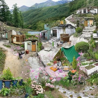 Won Seoung-won, 'My Age of Seven - Azalea Boiled Rice and Chrysanthemum', 2010