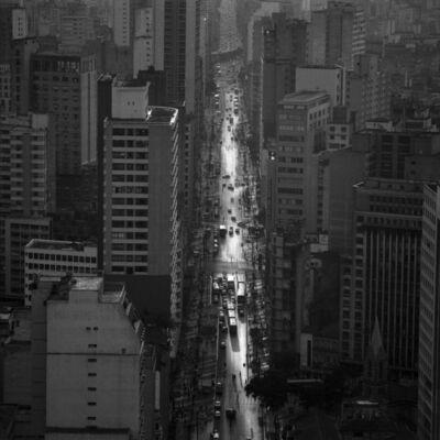 Cristiano Mascaro, 'Avenida São João (detail), São Paulo, Brazil', 1986