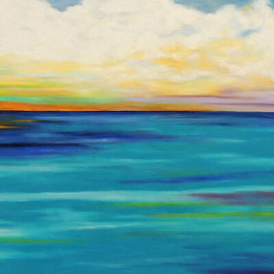 Mary Johnston, 'Clouds Over Turquoise Water #2', 2016