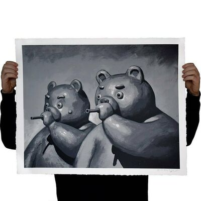 Tvorogov Brothers, 'Bears With Blowguns', 2021
