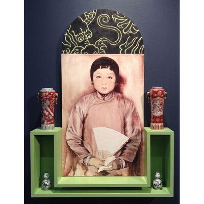 Hung Liu 刘虹, 'Fan', 1992