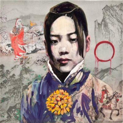 Hung Liu 刘虹, 'Woman Warrior', 2020