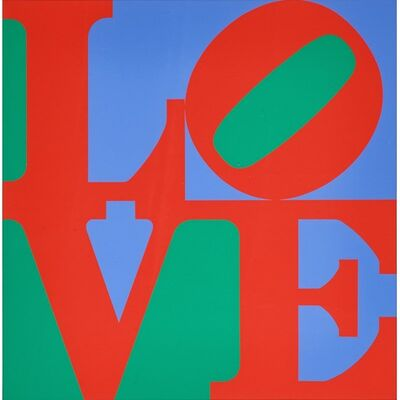 Robert Indiana, 'Philadelphia Love  - The Original 1970s Edition (Sheehan, 83)', 1975