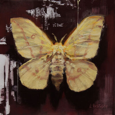 Lindsey Kustusch, 'Yellow Imperial Moth'