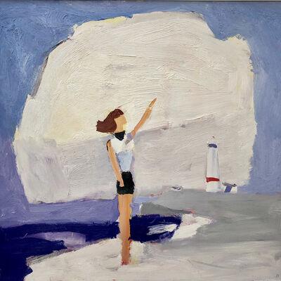 Julian Bailey, 'Ocean's Mirage (Girl pointing)', ca. 2020