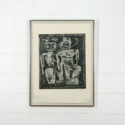 Louise Nevelson, 'Jungle Figures', 1953-1955