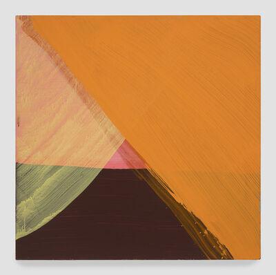 Cat Balco, 'Orange Open Triangles', 2019