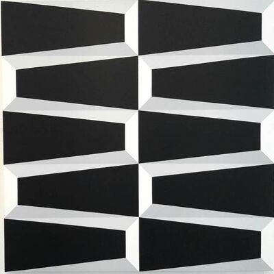Alberto Jose Sanchez, 'Black Trapezoid', 2018