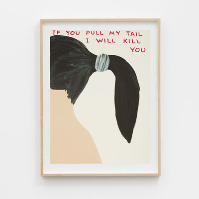 David Shrigley, 'Untitled (If you pull my tail)', 2020