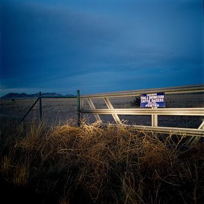 Allison V. Smith, 'Ranch Land. 2014. Marfa, Texas', 2014