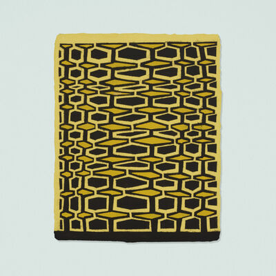 James Siena, 'Two Perforated Combs', 2006
