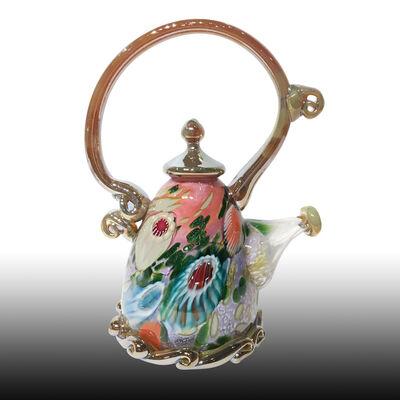 Paul Counts, 'Pink & Lavender Jewel Tone Teapot ', 2018