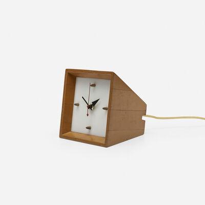 George Nelson & Associates, 'table clock', c. 1955