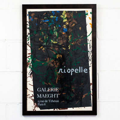 Jean-Paul Riopelle, 'Exhibition Poster', 1970s