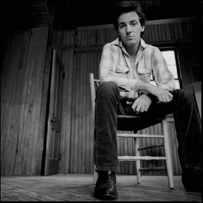 David Michael Kennedy, 'Bruce Springsteen in Chair', 1982