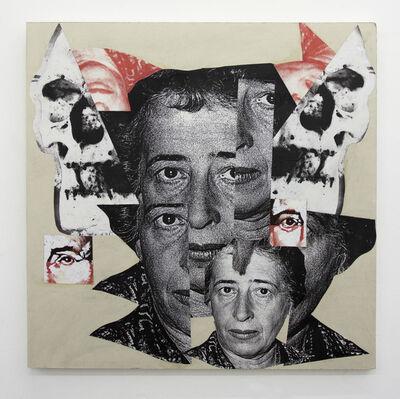 Kandis Williams, 'Arendtian Death Mask', 2016