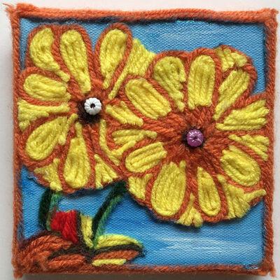 Nzuji De Magalhaes, 'Sunflowers', 2015