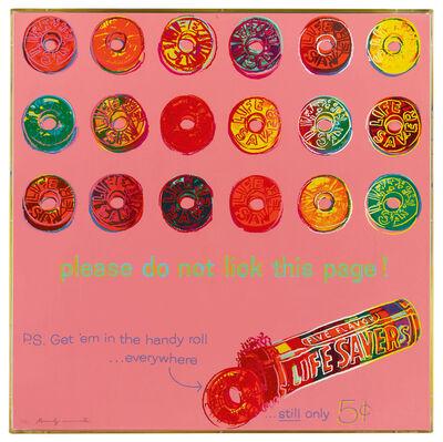 Andy Warhol, 'Lifesavers F&S II.353', 1985