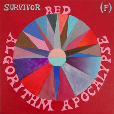 Suzanne Treister, 'SURVIVOR (F)/Red Algorithm Apocalypse', 2017