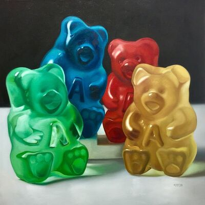 Margaret Morrison, 'Family of Four Gummy Bears', 2018