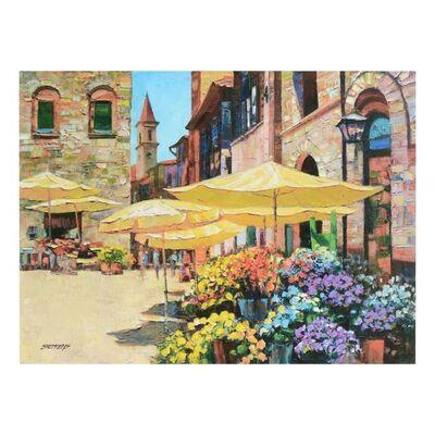 Howard Behrens, 'Siena Flower Market', 1990-2010