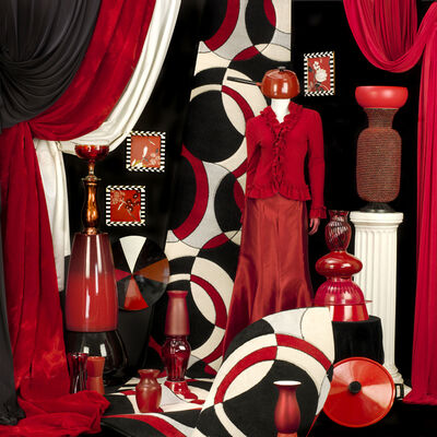 Patty Carroll, 'Redly', 2014
