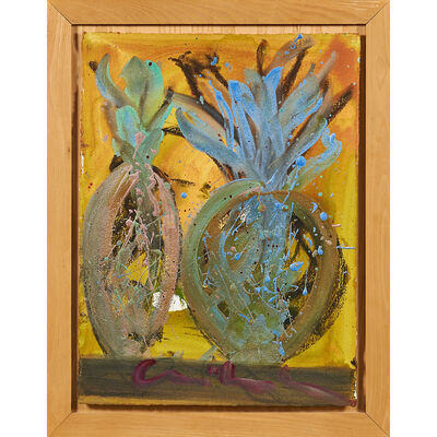 Dale Chihuly, 'Untitled painting, Seattle, WA (framed)'