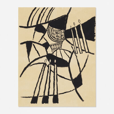 George L. K. Morris, 'Santo Spirito (study)', 1963