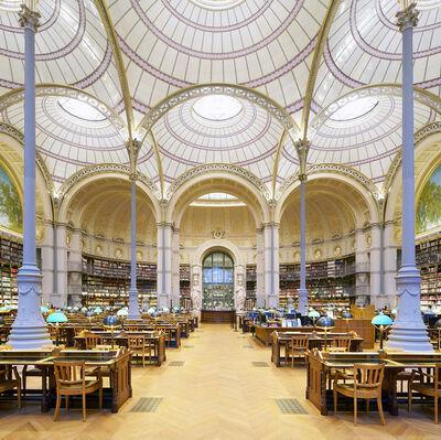 Reinhard Gorner, 'Salle Labrouste I', 2018