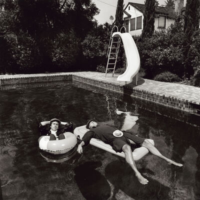 Terry O'Neill, 'Peter Cook and Dudley Moore, Beverly Hills', 1975