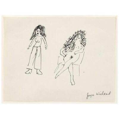 Joyce Wieland, 'Two Ladies', ca. 1960
