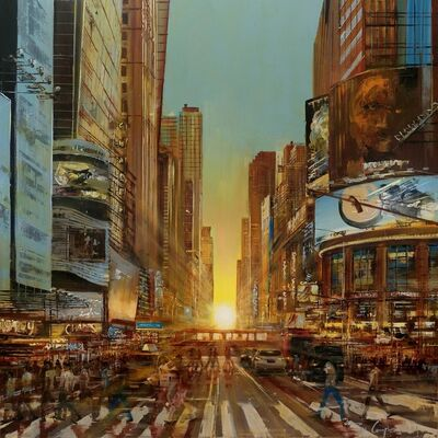 Ziv Cooper, 'Glowing Sunset ', 2019
